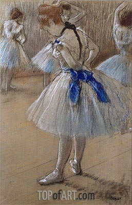 Dancer, c.1880 | Degas| Painting Reproduction