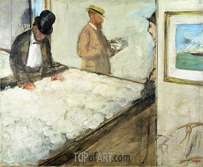 Degas | Cotton Merchants in New Orleans, 1873