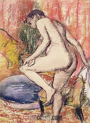 The Toilet, 1883 | Degas| Painting Reproduction