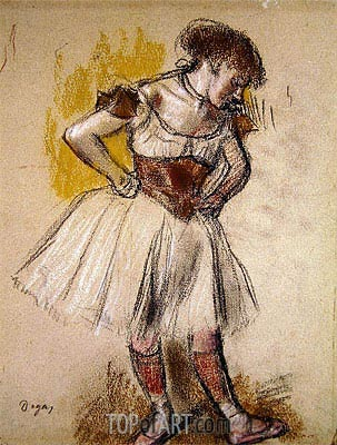 Degas | Dancer, c.1880