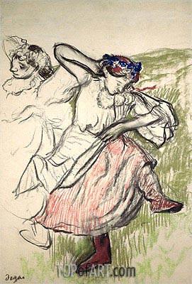 Russischer Tänzer, c.1899 | Degas | Gemälde Reproduktion