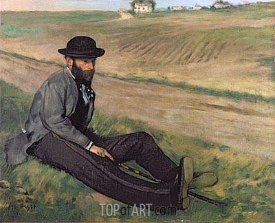 Degas | Eugene Manet, undated
