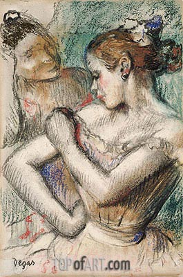 Dancer, 1896 | Degas| Painting Reproduction