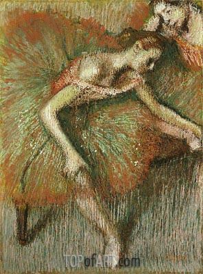 Degas | Ballerinas, c.1899