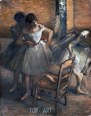 Dancers, c.1895/00 | Degas | Painting Reproduction