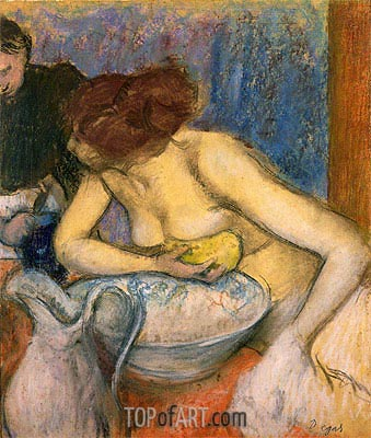 The Toilet, 1897 | Degas| Painting Reproduction