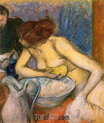 Degas | The Toilet, 1897