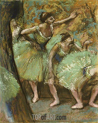 Dancers, 1898 | Degas | Painting Reproduction