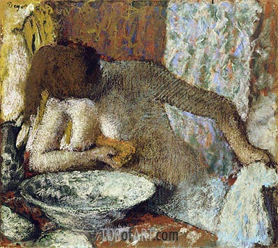Woman at her Toilet, c.1897 | Degas| Painting Reproduction