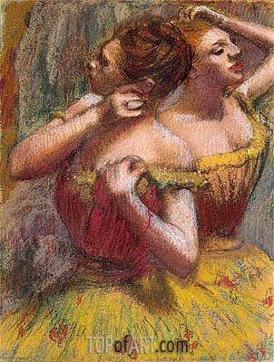Two Dancers, c.1898/99 | Degas| Painting Reproduction