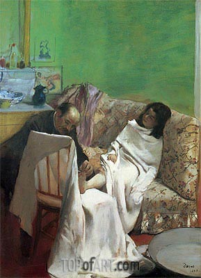The Pedicure, 1873 | Degas | Painting Reproduction