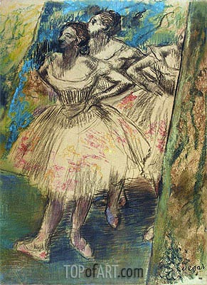 Dancer in the Wing, c.1905 | Degas | Painting Reproduction