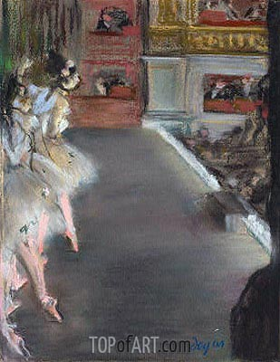 Dancers at the Old Opera House, c.1877 | Degas| Painting Reproduction