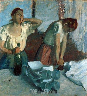 Women Ironing, c.1884 | Degas | Painting Reproduction