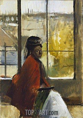 Alice Villette, 1872 | Degas | Painting Reproduction