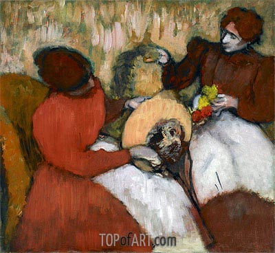 The Milliners, c.1898 | Degas| Painting Reproduction