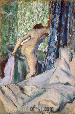 The Morning Bath, c.1887/90 | Degas| Painting Reproduction