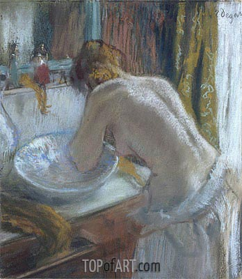 The toilet, c.1884/86 | Degas | Painting Reproduction