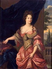 Marie-Anne de Bourbon, Duchesse de Vendome, 1839 by Hippolyte Flandrin | Painting Reproduction