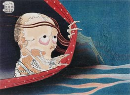 Ghost of Kohada Koheiji | Hokusai | Painting Reproduction