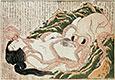 Der Traum der Frau des Fischers, 1814 | Katsushika Hokusai