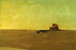 Marooned, 1909 by Howard Pyle | Painting Reproduction