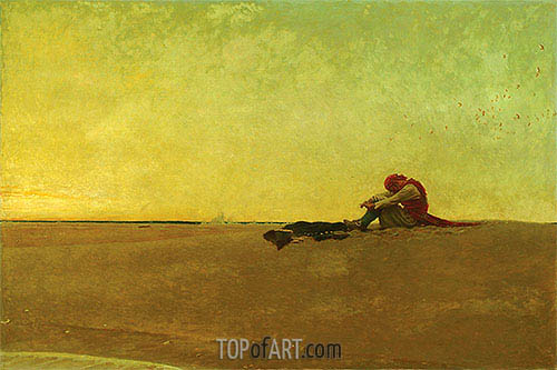 Howard Pyle | Marooned, 1909