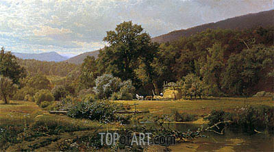 Summer in the Blue Ridge, 1874 | Hugh Bolton Jones | Gemälde Reproduktion