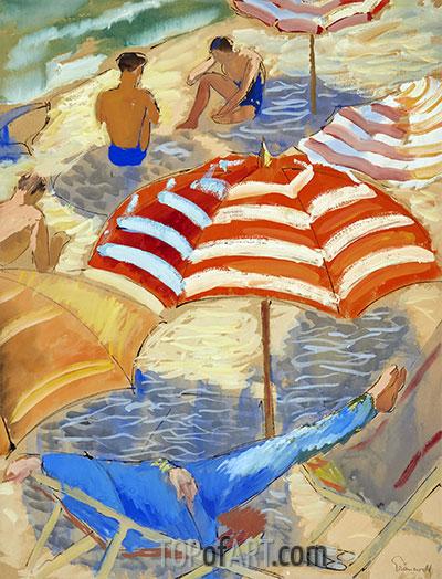 Isaac Grünewald | Am Strand, undated
