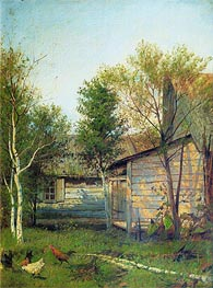 Sunny Day. Spring, 1877 by Isaac Levitan | Painting Reproduction