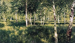 Birch Grove | Isaac Levitan | outdated