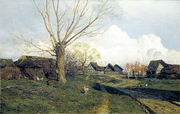 Savvinskaya Sloboda near Zvenigorod | Isaac Levitan | Painting Reproduction