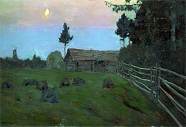 Dusk | Isaac Levitan | Painting Reproduction