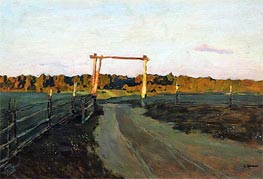 Summer Evening, 1900 by Isaac Levitan | Painting Reproduction