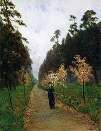 Autumn Day. Sokolniki, 1879 by Isaac Levitan | Painting Reproduction