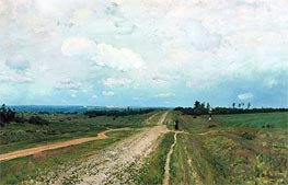 Vladimirka, 1892 by Isaac Levitan | Painting Reproduction