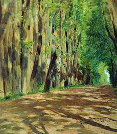Alley, c.1880/83 by Isaac Levitan | Painting Reproduction