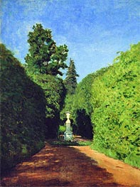 Alley. Ostankino, c.1880/83 by Isaac Levitan | Painting Reproduction