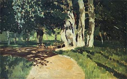In the Park, 1895 by Isaac Levitan | Painting Reproduction