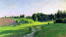 Evening Shadows, c.1891/94 by Isaac Levitan | Painting Reproduction
