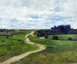 Road, 1898 by Isaac Levitan | Painting Reproduction