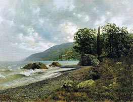 Crimean Landscape, 1887 by Isaac Levitan | Painting Reproduction