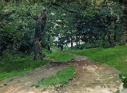 Wood, Undated by Isaac Levitan | Painting Reproduction
