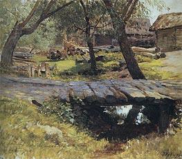 The Bridge. Savvinskaya Sloboda, 1884 by Isaac Levitan | Painting Reproduction