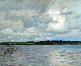 Lake. Grey Day | Isaac Levitan | Gemälde Reproduktion