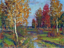 Autumn, a.1890 by Isaac Levitan | Painting Reproduction