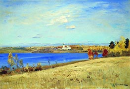 Autumn. River | Isaac Levitan | Gemälde Reproduktion
