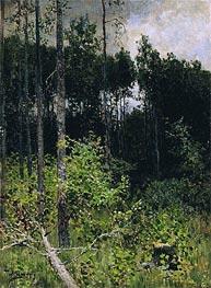 Aspen. Grey Day | Isaac Levitan | Gemälde Reproduktion