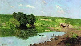 Landscape, 1883 by Isaac Levitan | Painting Reproduction