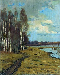 Landscape, Undated by Isaac Levitan | Painting Reproduction